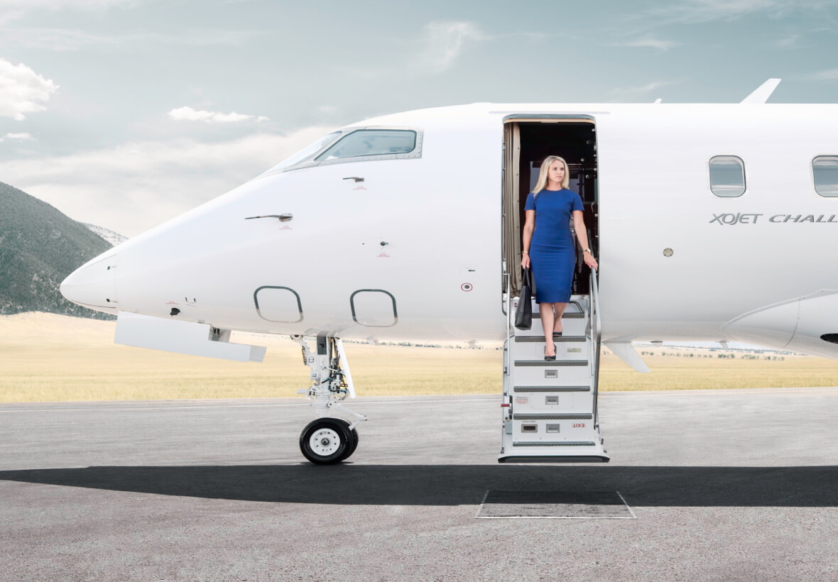 How to fly on private jets for less - from €390 per person