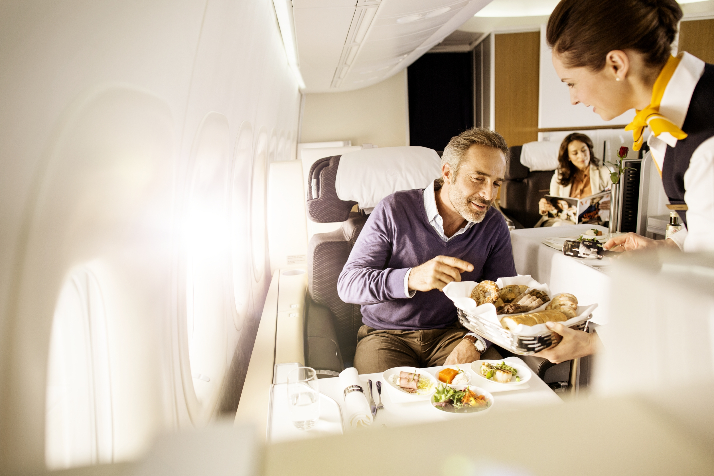 Offer: First class with Lufthansa or Swiss from £1934 return