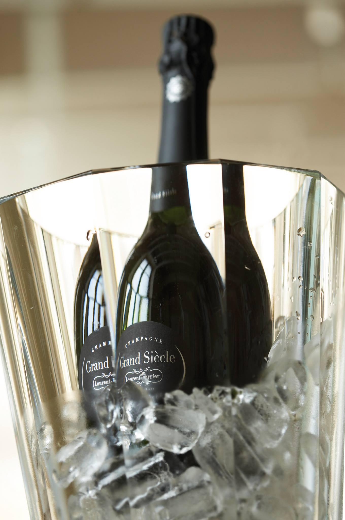 Laurrent Perrier Grand Siecle champagne