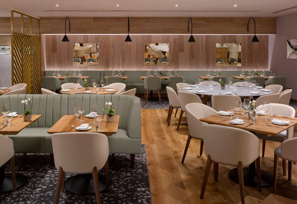 Intercontinental London Park Lane review Theo Randall