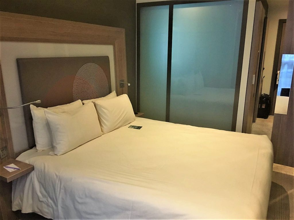 Novotel Heathrow Terminal 1,2,3 review bed