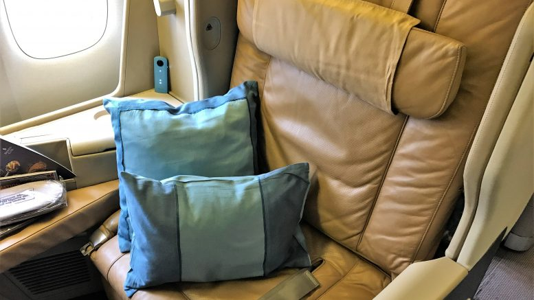 Singapore Airlines B777 business class review