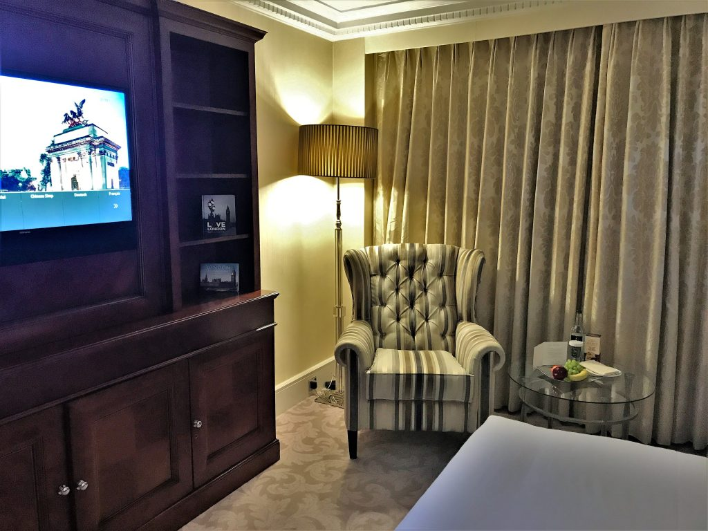 Intercontinental London Park Lane bedroom