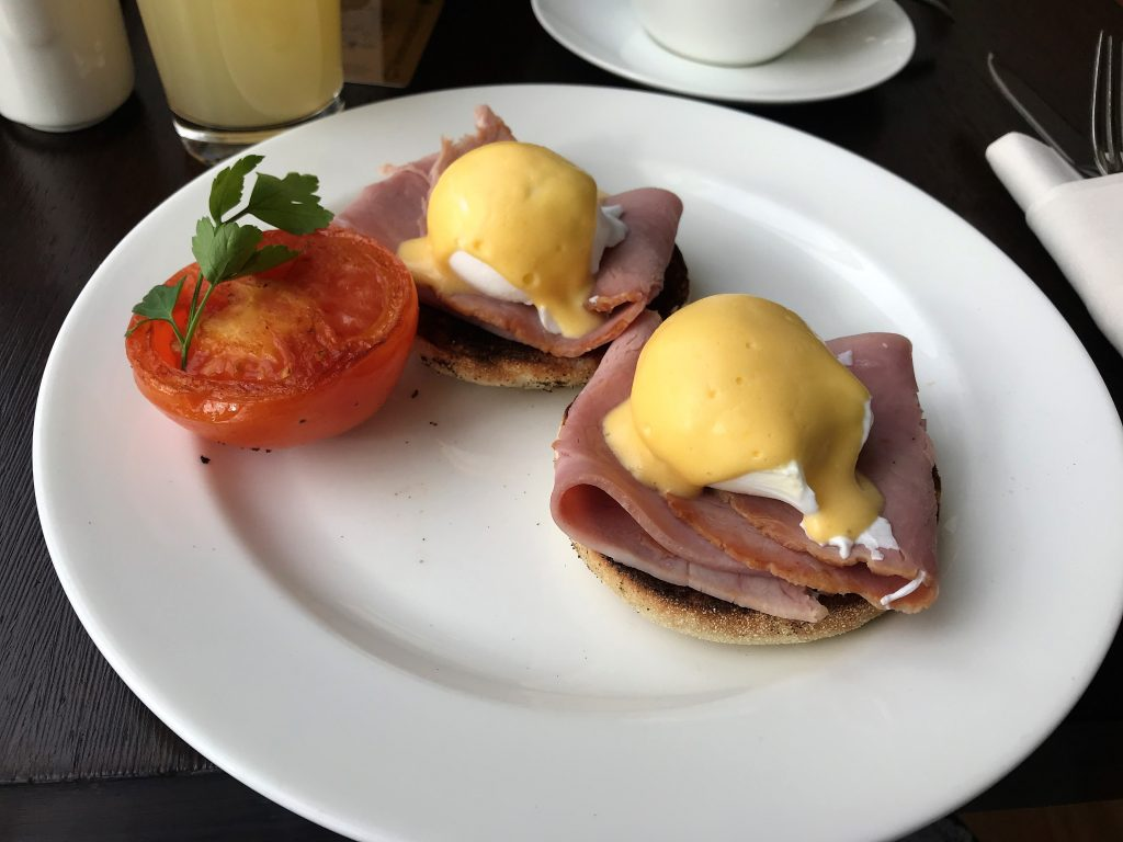 Intercontinental London Park Lane review eggs benedict