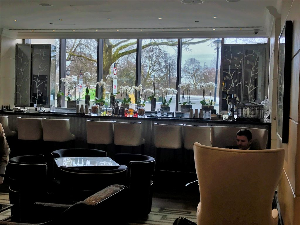 Intercontinental London Park Lane review arch bar