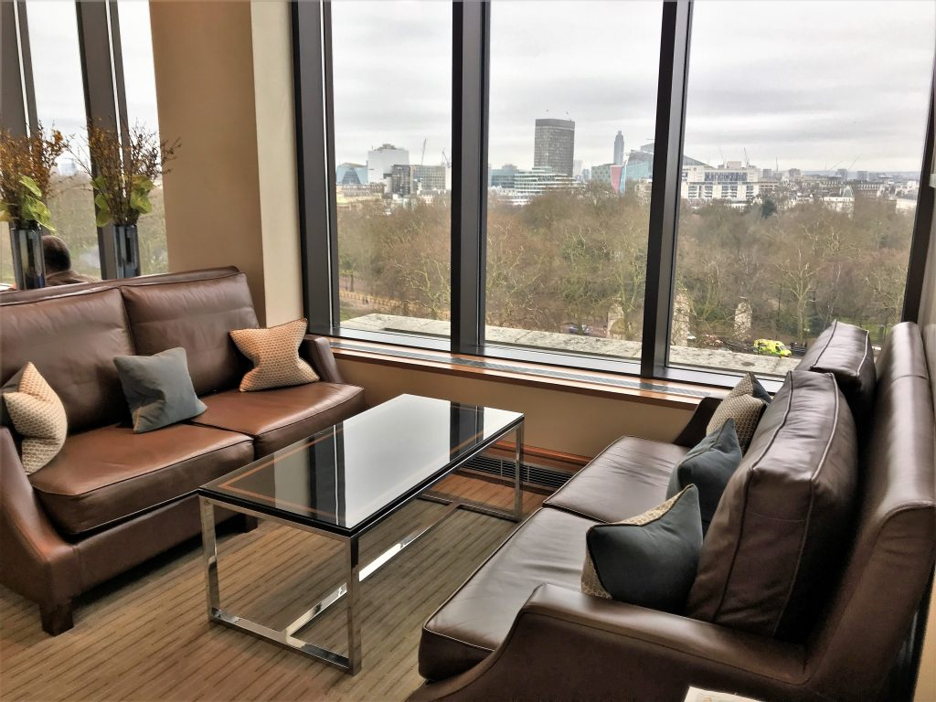 Intercontinental London Park Lane review lounge