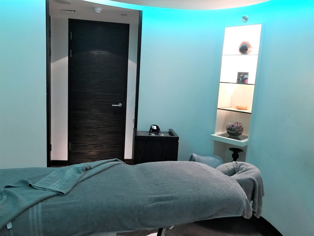 Intercontinental London Park Lane review spa room