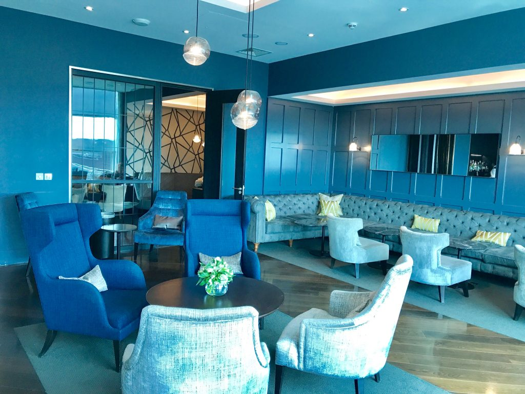 Clubrooms lounge Gatwick south review Interior