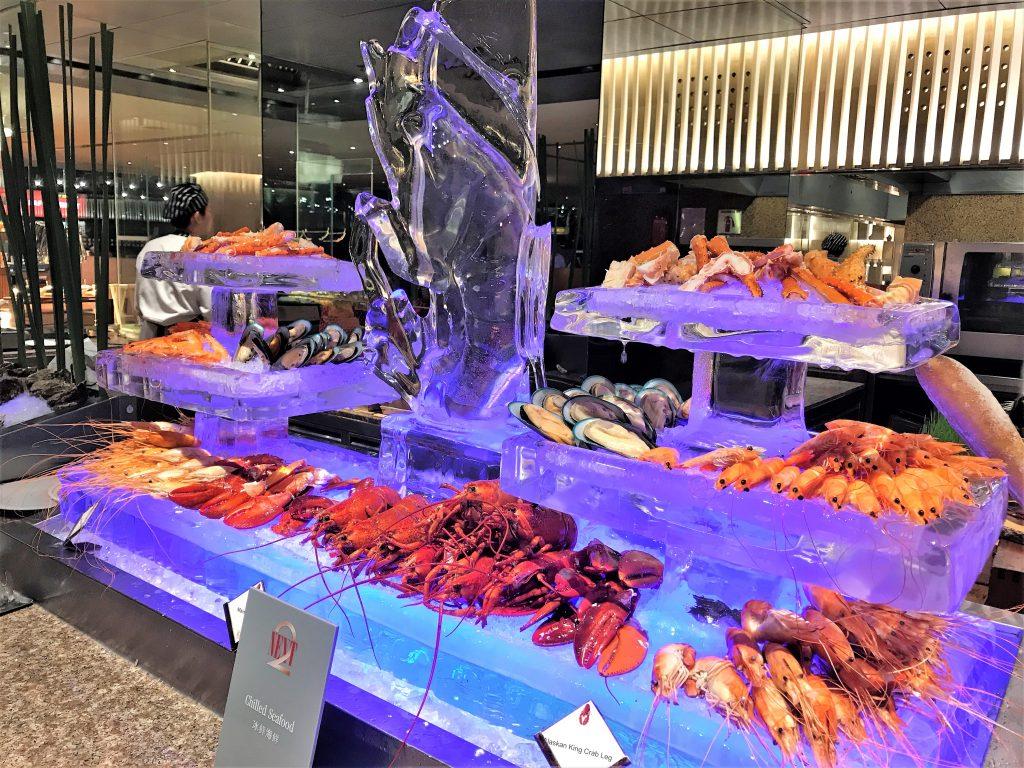 Shangri-La Hotel Bangkok review seafood