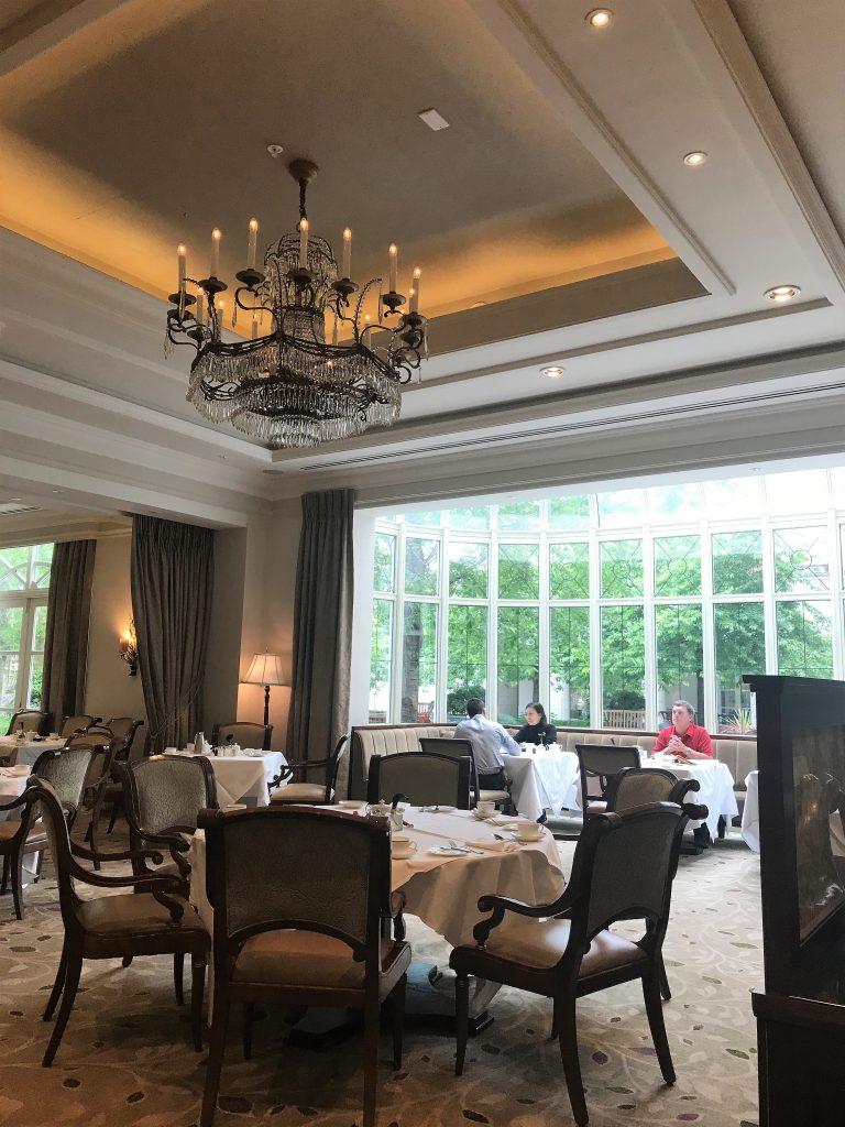 InterContinental Hotel Dublin review Seasons restaurants