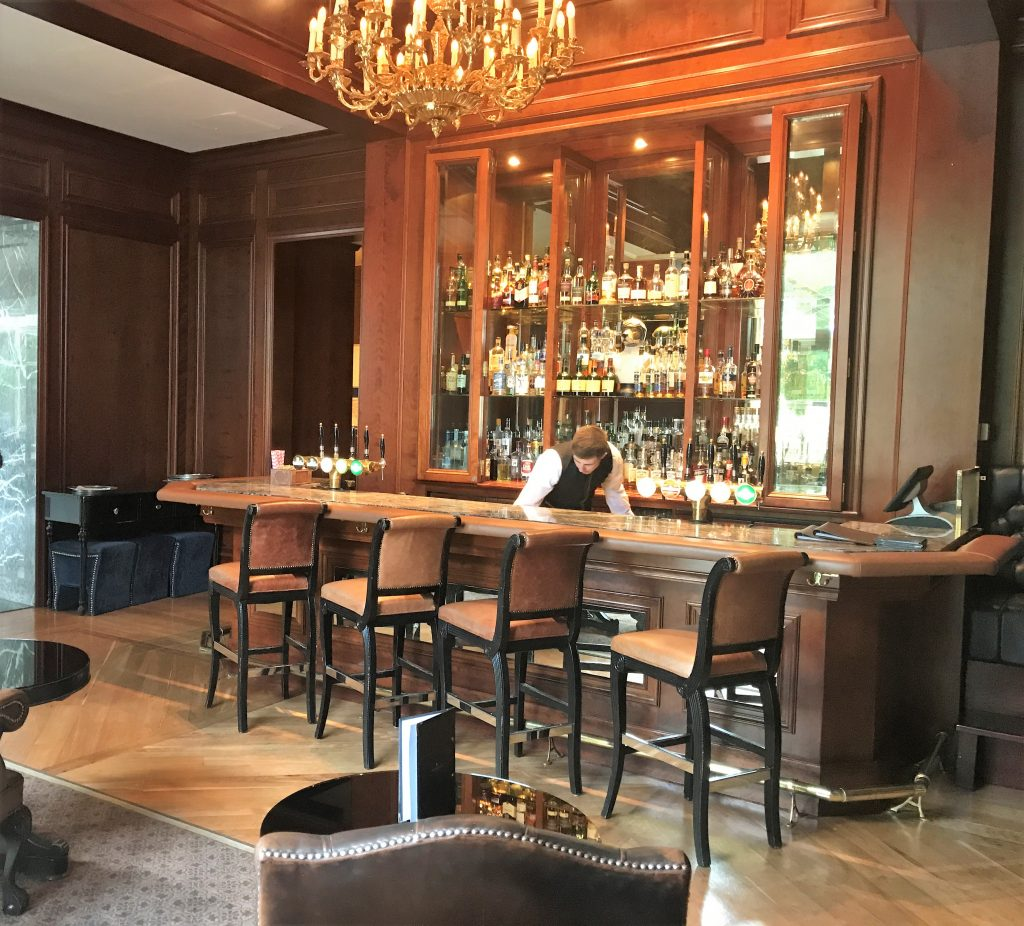 InterContinental Hotel Dublin review whiskey bar