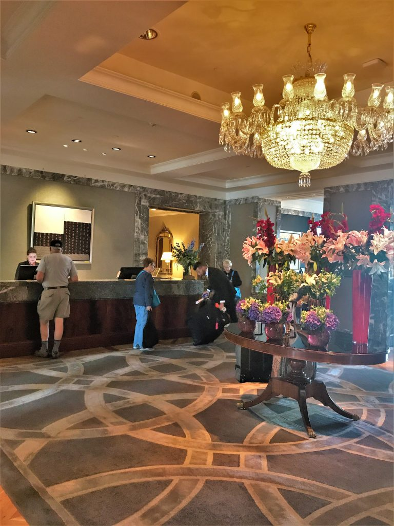 InterContinental Hotel Dublin review lobby