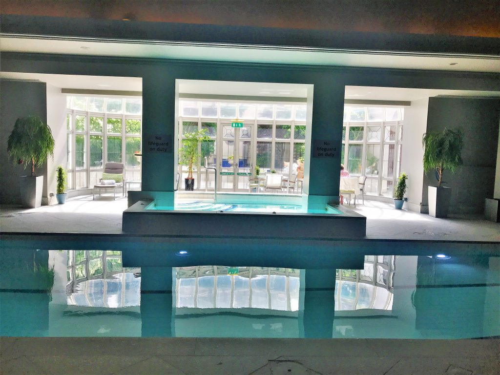 InterContinental Hotel Dublin review pool