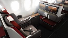 LATAM A350 business class seat cheap flights