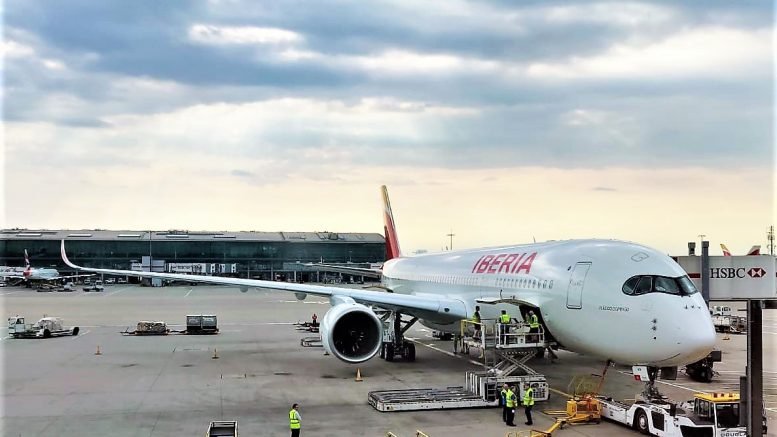 Iberia A350-900 London business class review
