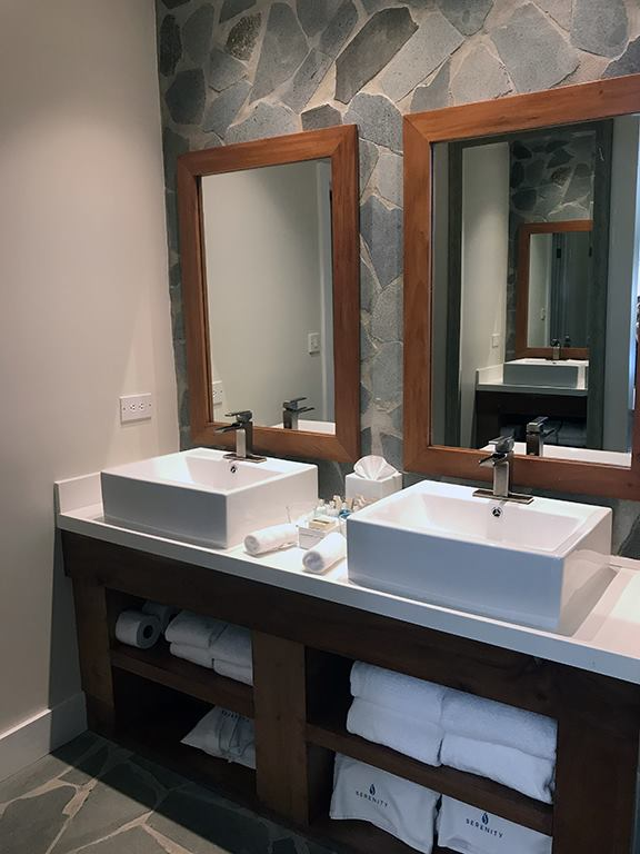 Serenity at Coconut Bay St Lucia hotel review bathroom