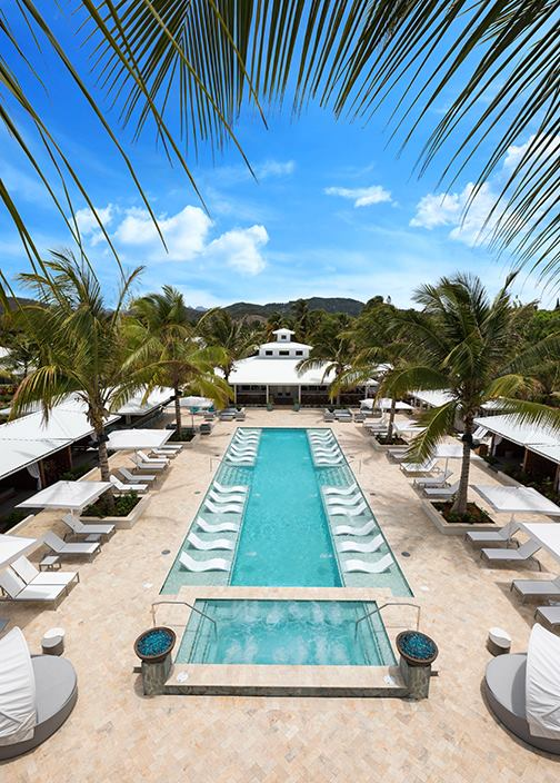 Serenity at Coconut Bay St Lucia hotel review pool