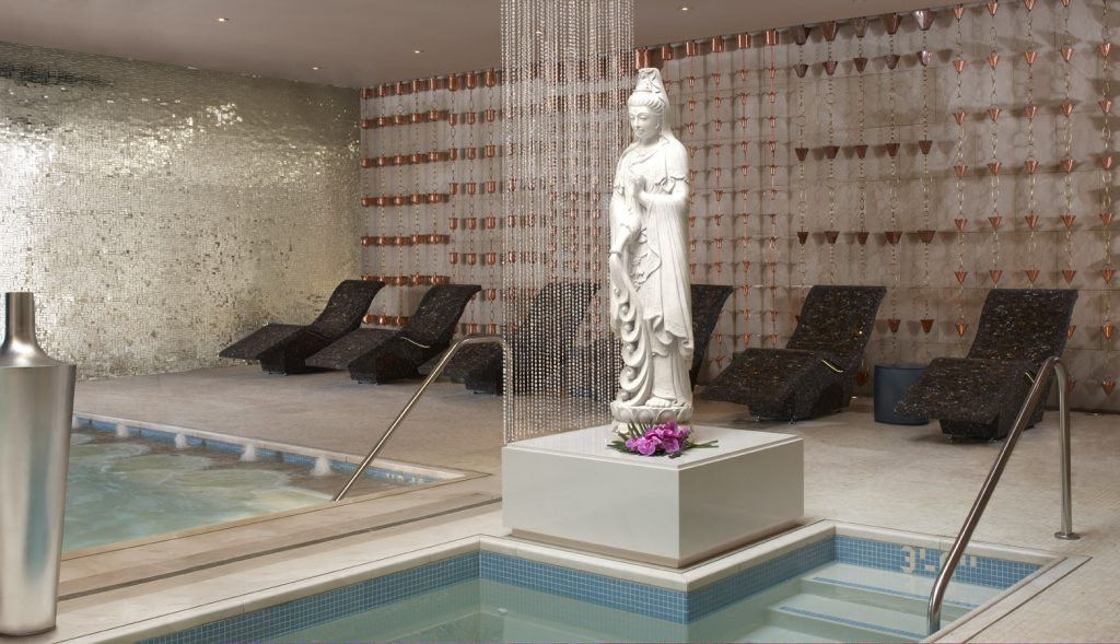 Encore by Wynn hotel Las Vegas review women's spa