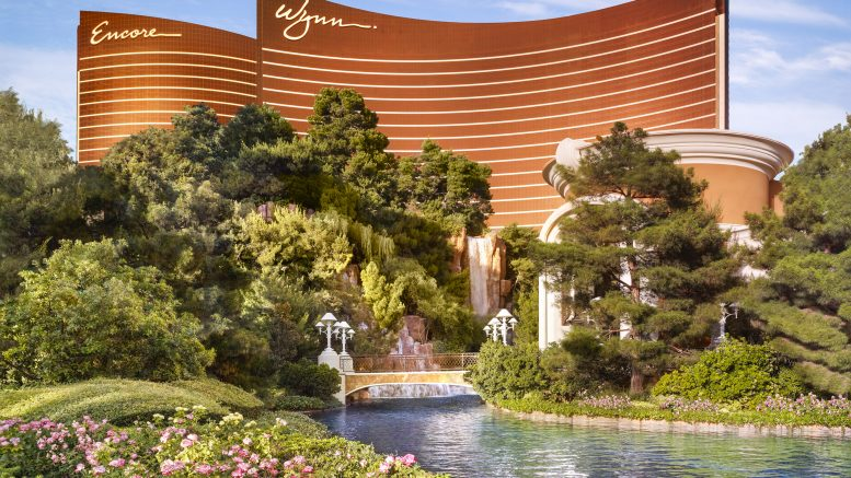 Encore Las vegas by wynn hotel review exterior