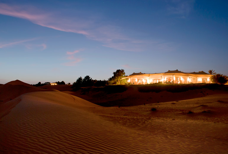 Book Stays For Nearly 50% Discount in Marriott SPG Merger Al Maha Hotel Desert View