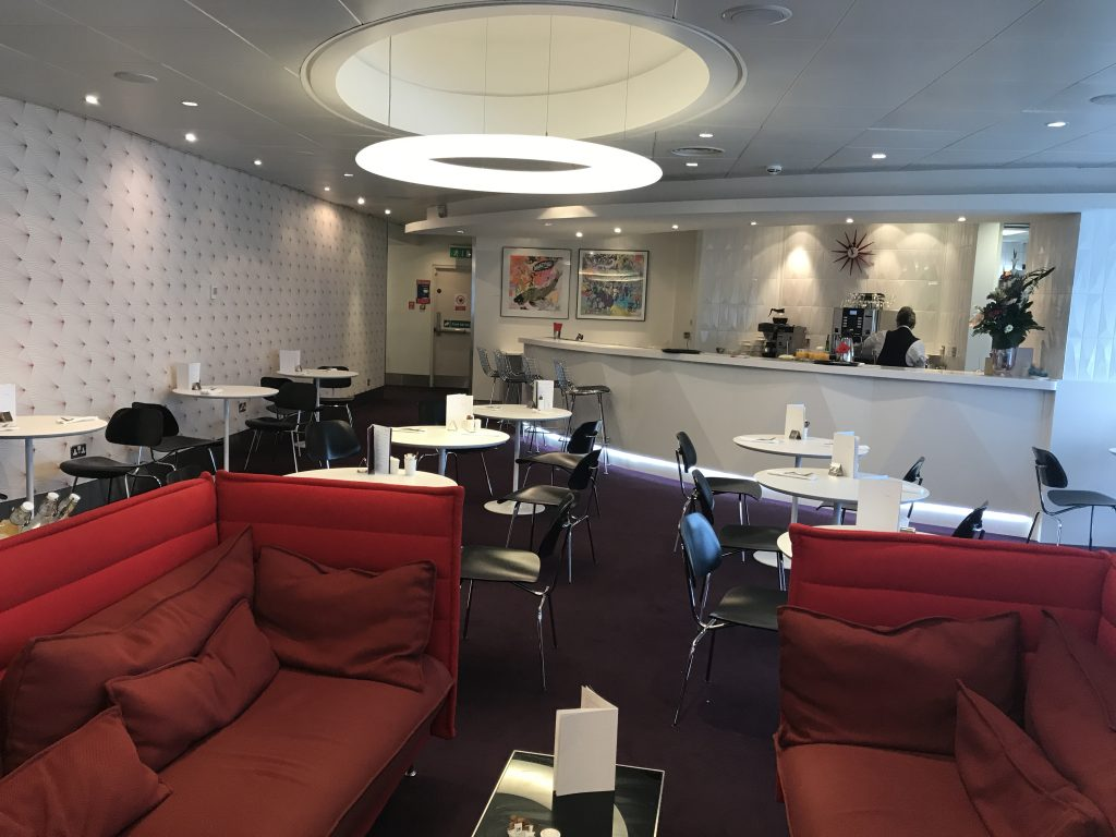 Virgin Atlantic B787 Upper Class night flight review revivals lounge