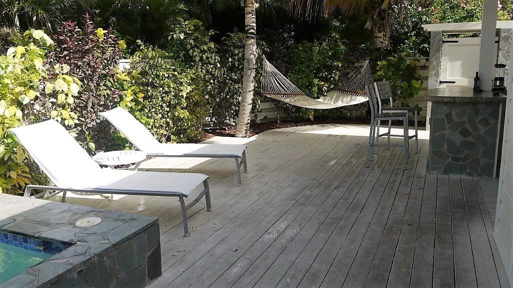 Serenity at Coconut Bay St Lucia hotel review loungers
