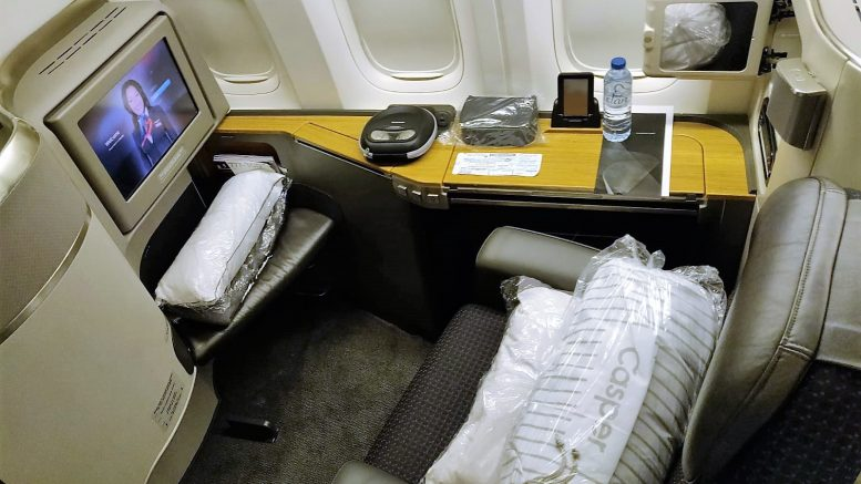 American Airlines International First Class B777-300ER ...British Airways First Class 777 Jfk To London
