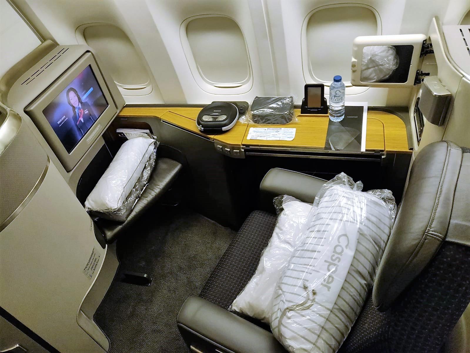 American Airlines International First Class B777 300er