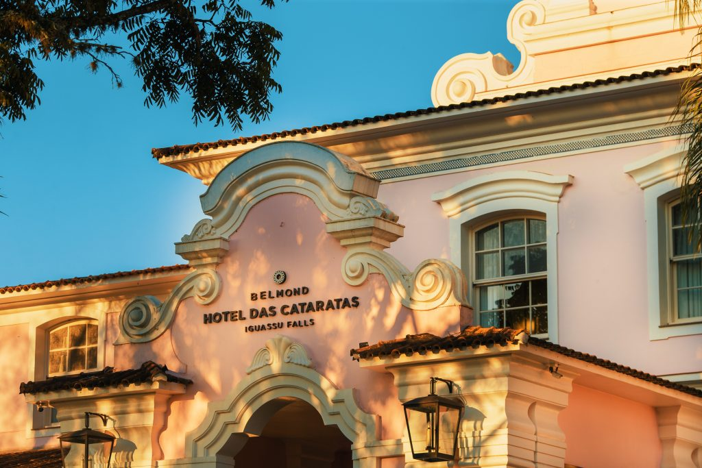 Belmond Hotel das Cataras at Iguassu Falls, Brazil Hotel entrance