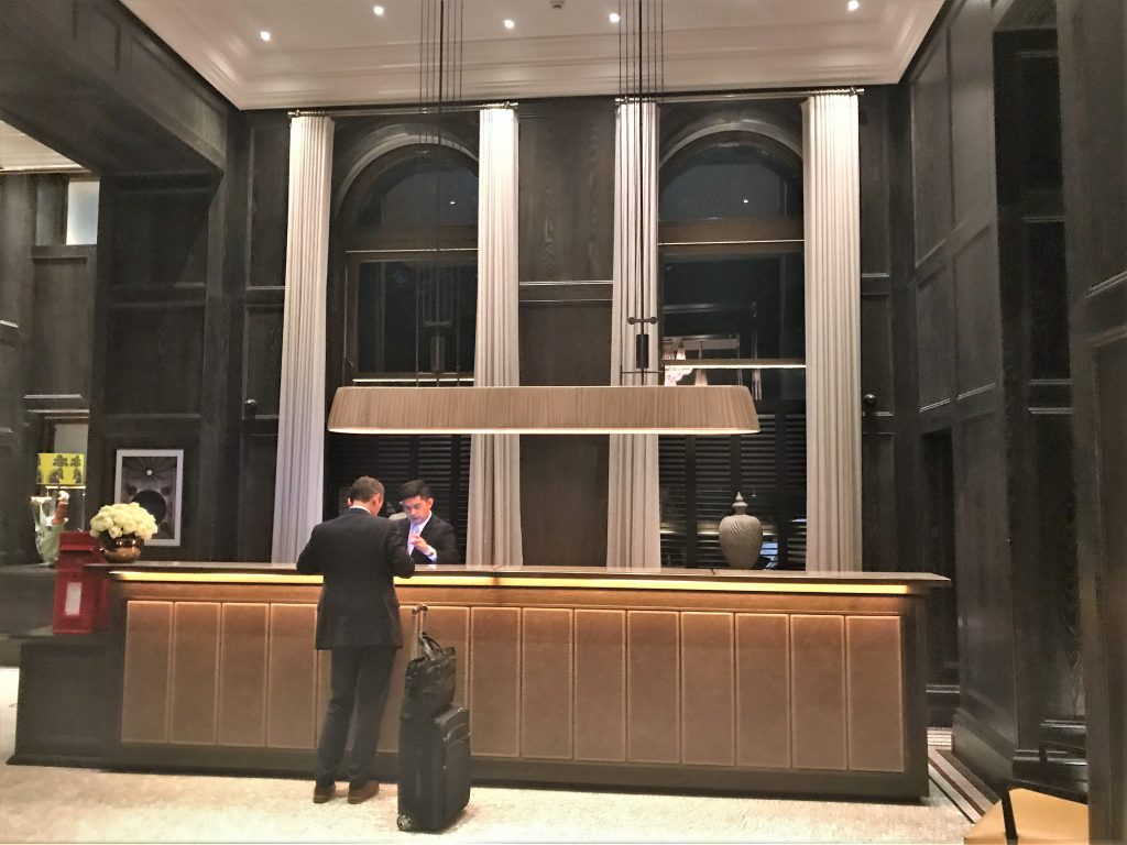 The Principal hotel, London review reception