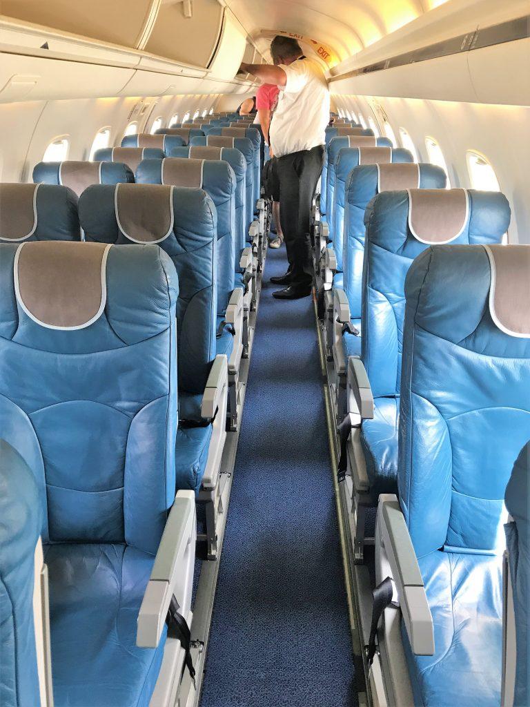 FlyBMI E145 cabin