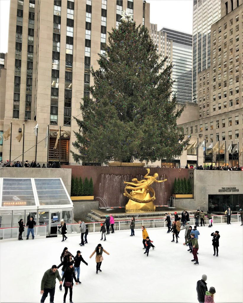 Rockefeller centre at Christmas