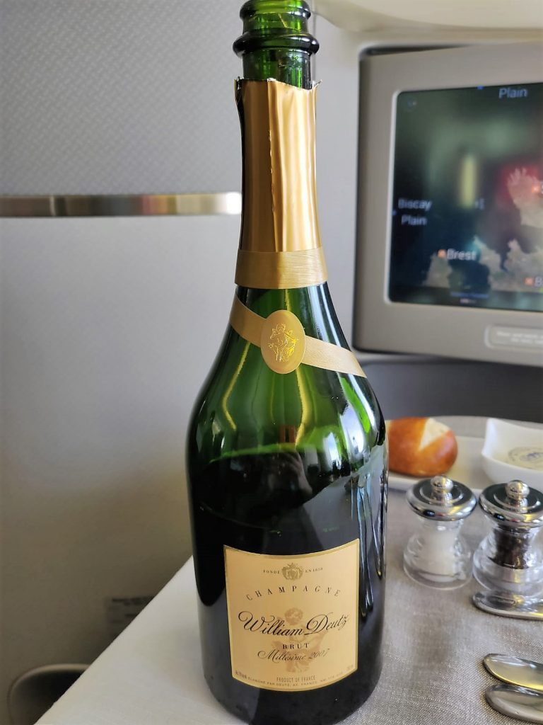 AA International First review champagne