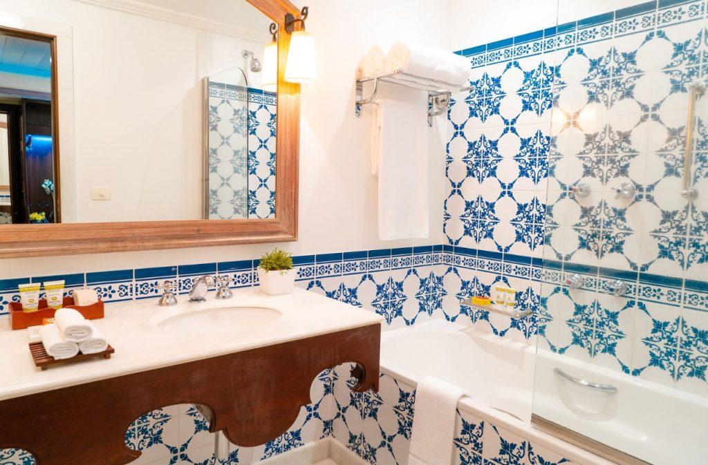Belmond Hotel das Cataras at Iguassu Falls, Brazil bathroom