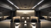 BA First class cabin