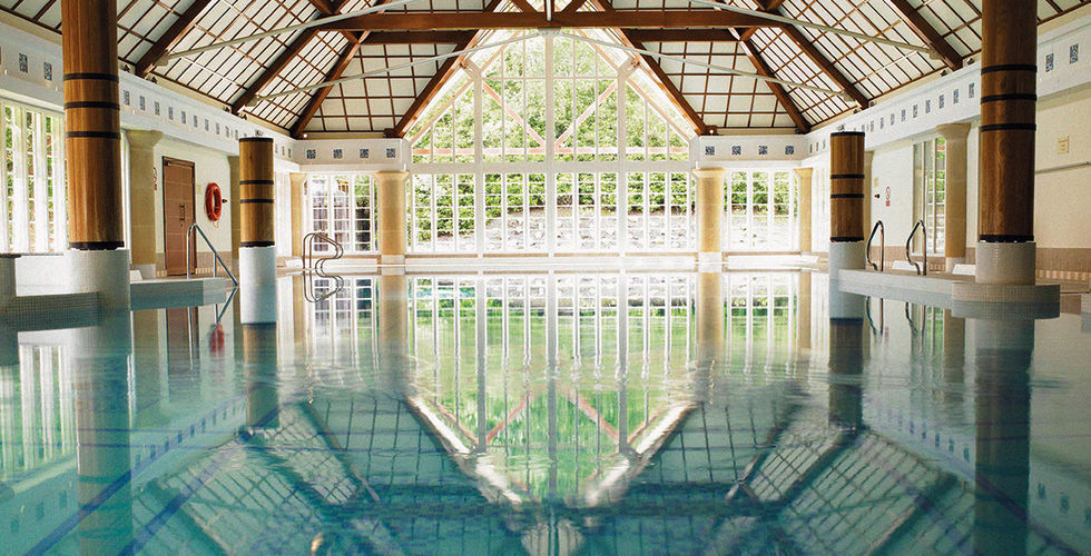 Champneys Spa Forest Mere - spa break review indoor pool