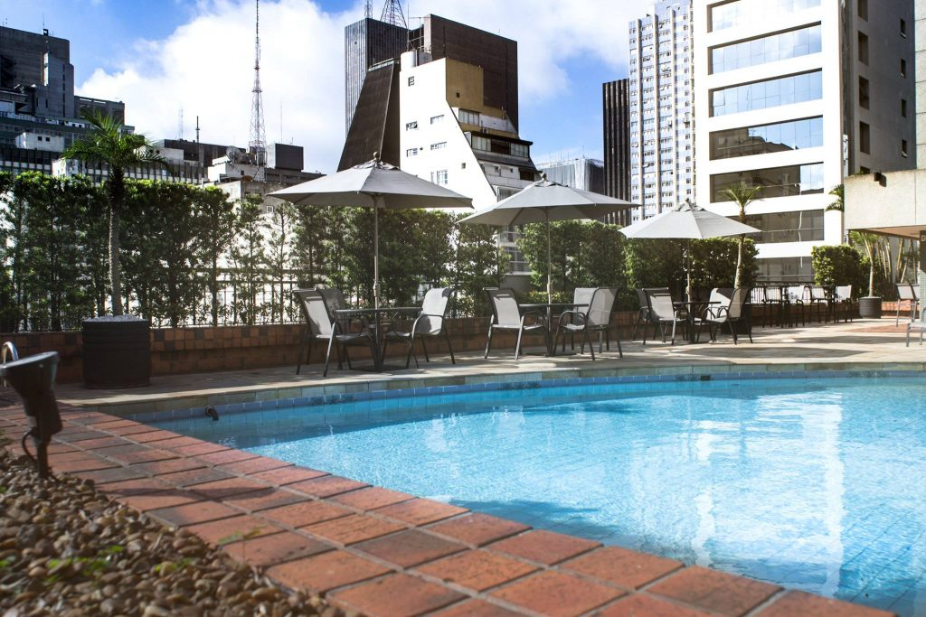 Intercontinental Hotel Sao Paolo Brazil review pool