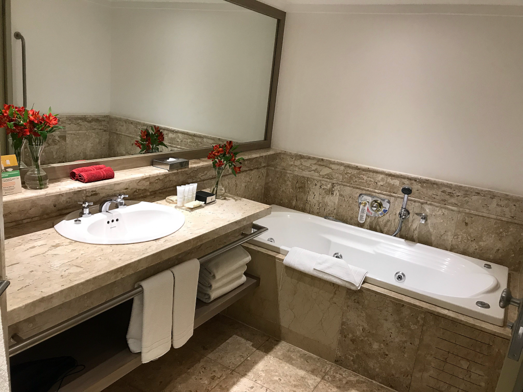 Intercontinental Hotel Sao Paolo Brazil review bathroom