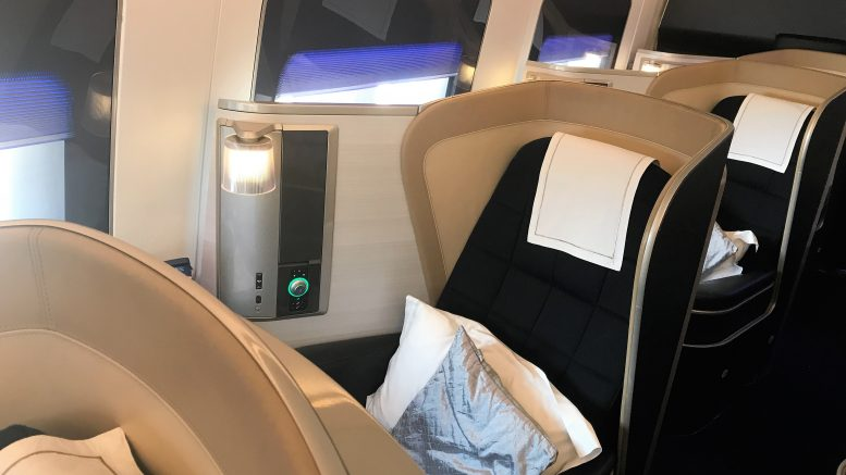 British Airways B747 First class review to New York in 360 ...