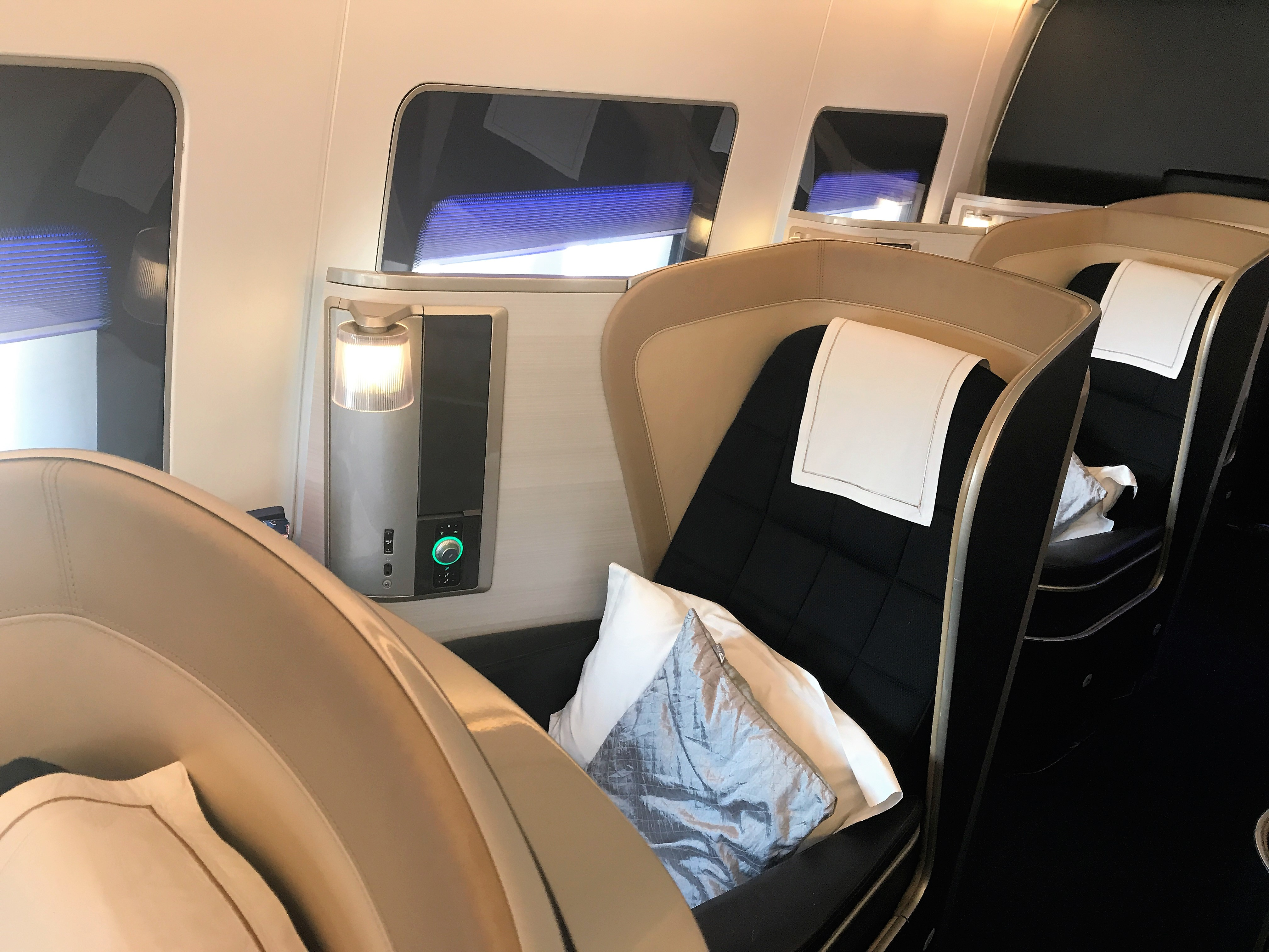 British Airways B747 First class review to New York