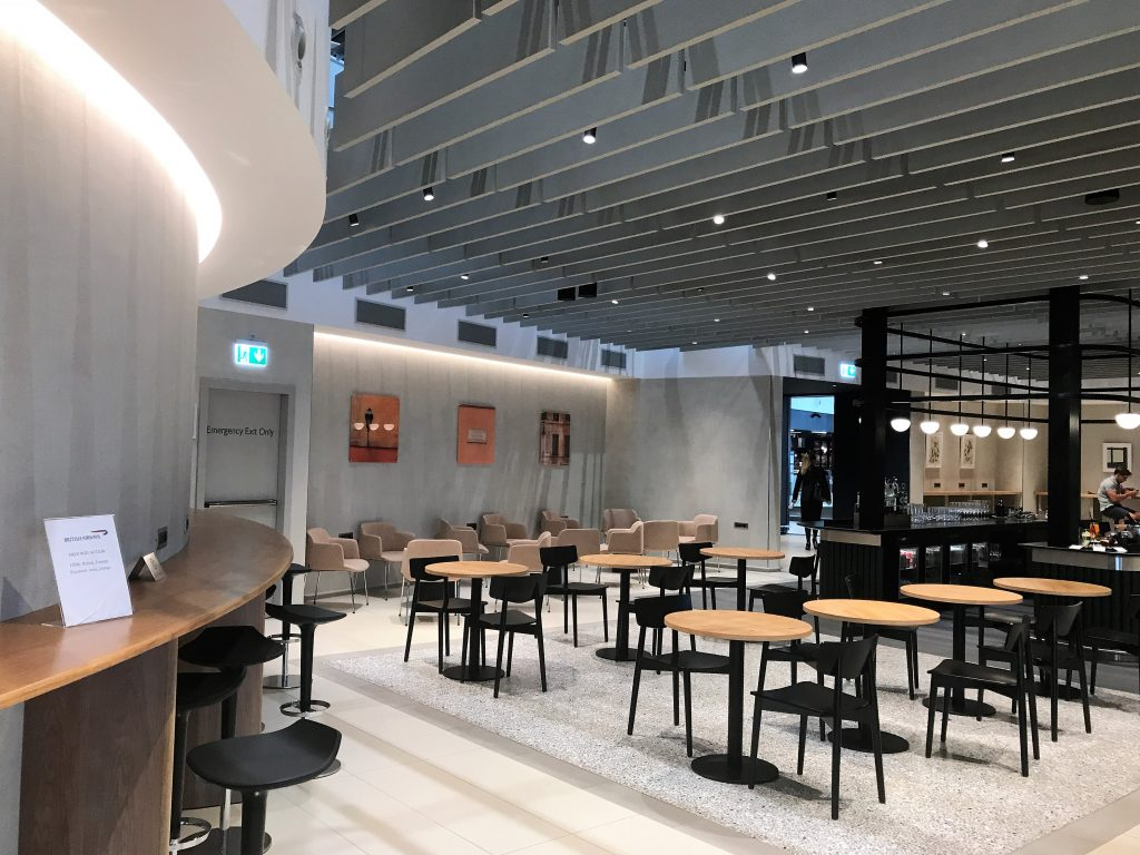 BA Rome lounge review