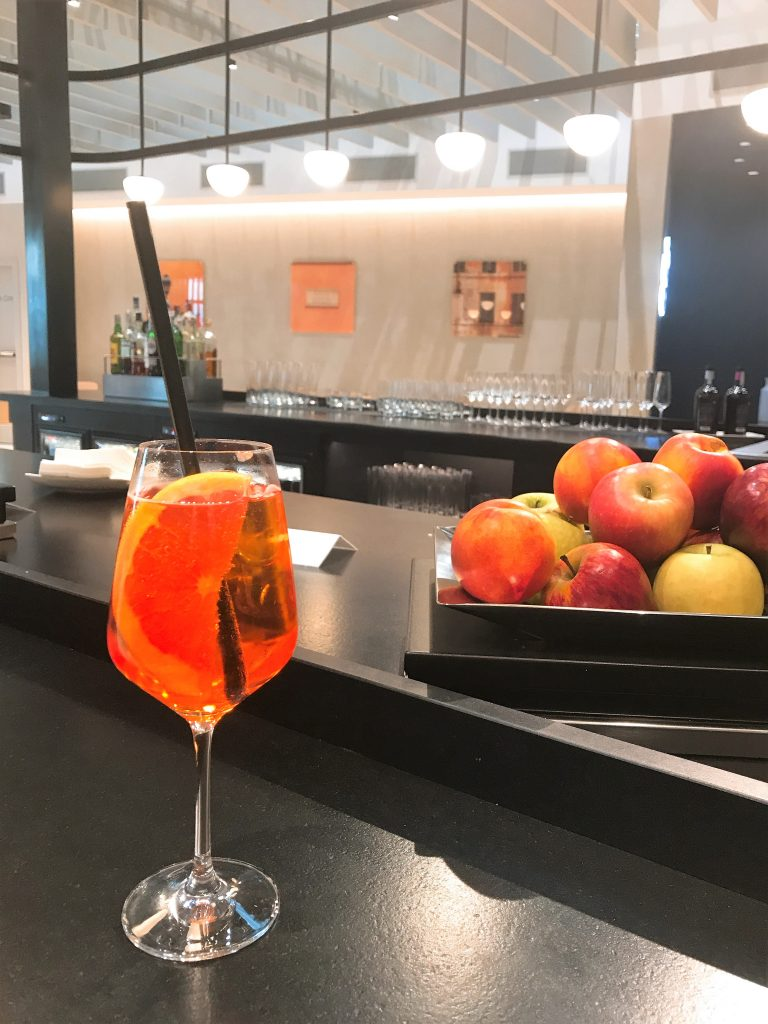 BA Rome lounge review