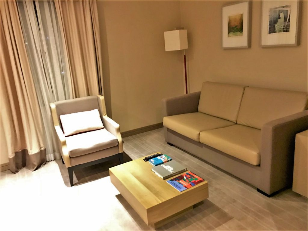 Intercontinental Hotel Sao Paolo Brazil review living room