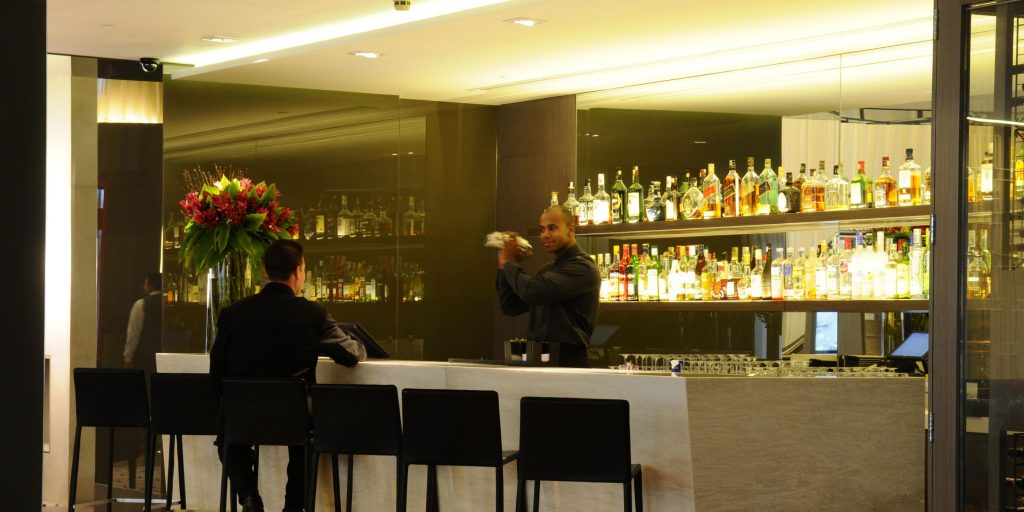 Intercontinental Hotel Sao Paolo Brazil review bar