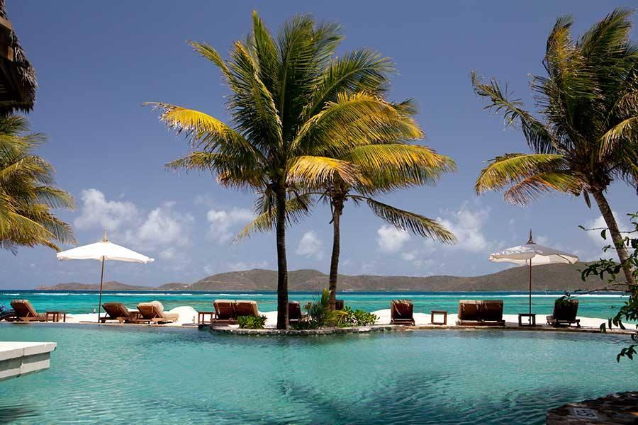 Necker Island pool