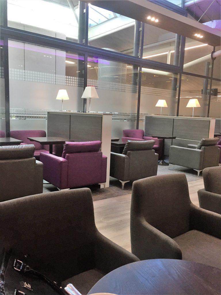 Aspire lounge Bristol airport
