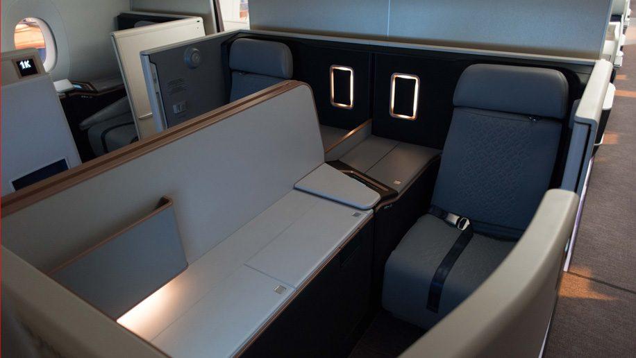 A350 First class on Malaysia Airlines
