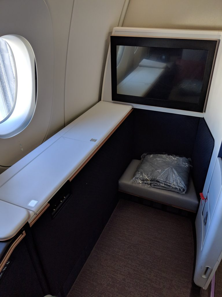 Malaysia Airlines A350 London – Kuala Lumpur First Class review first suite
