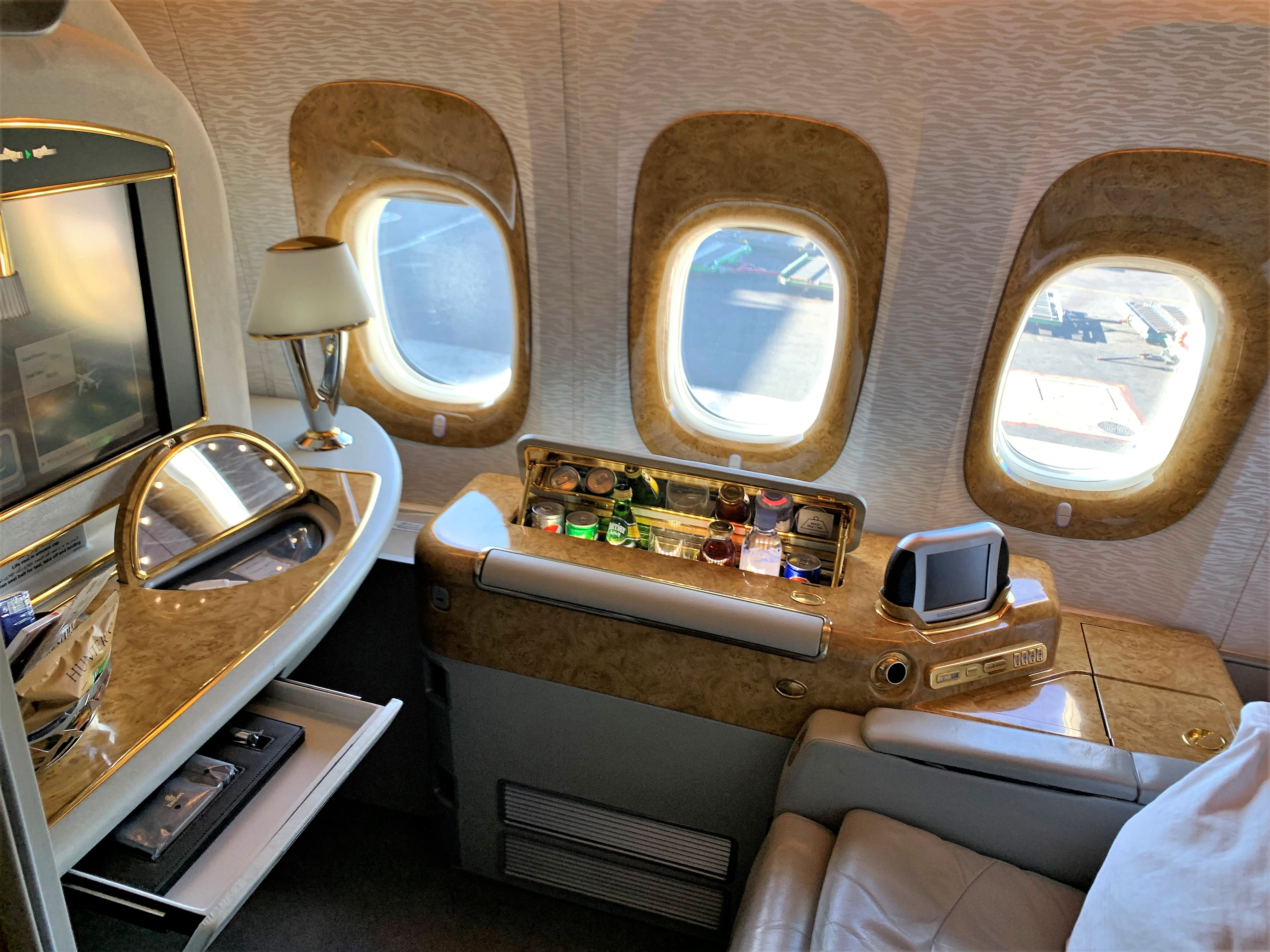 Emirates 777 First Class Review Turning Left For Less