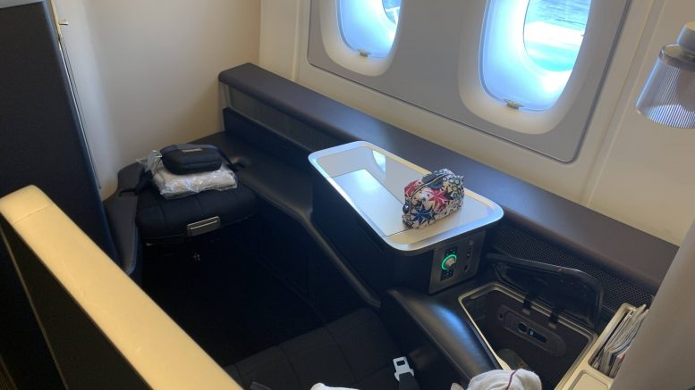 British Airways new First - take two A380 Heathrow to Hong Kong